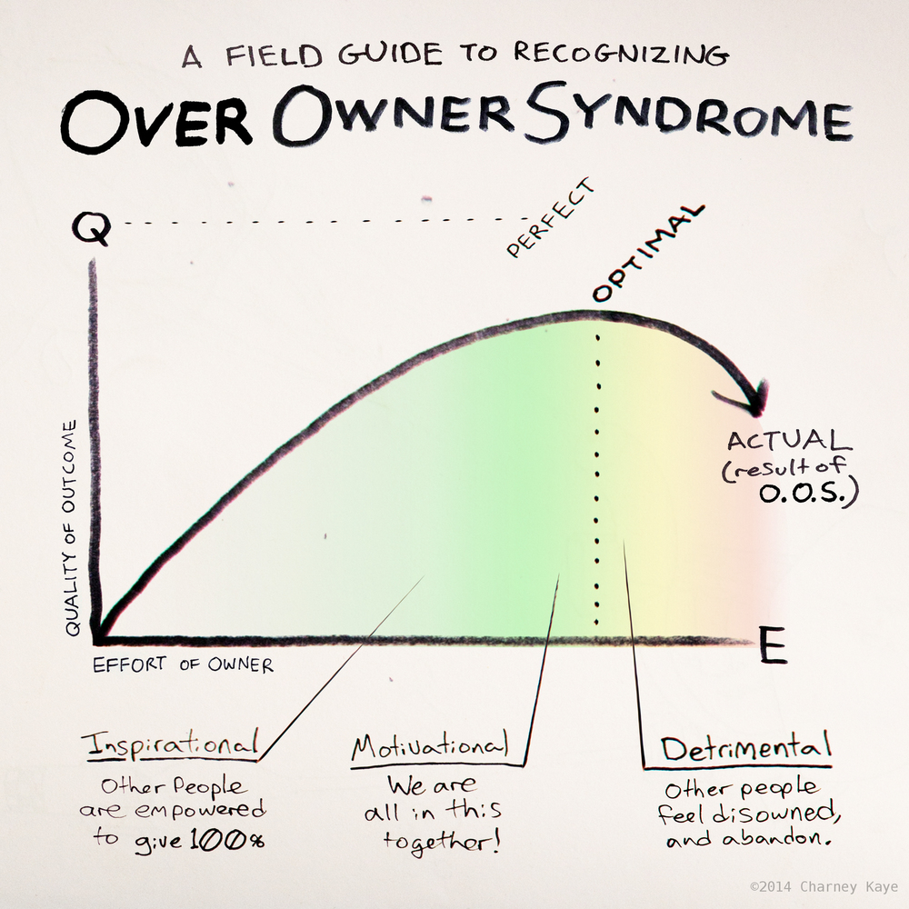 Over Owner Syndrome: A Field Guide to Recognizing Symptoms